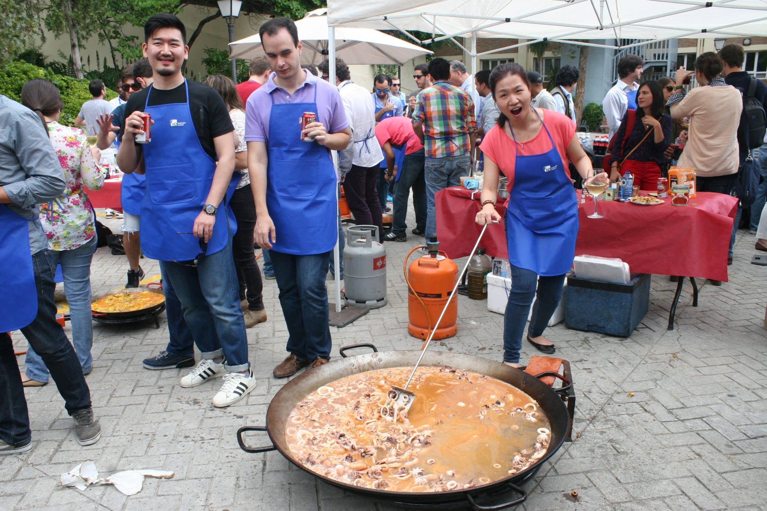 team building culinario