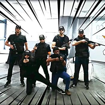 Team Building Original: La Bomba