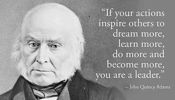 Imagen sobre liderazgo de John Quincy Adams