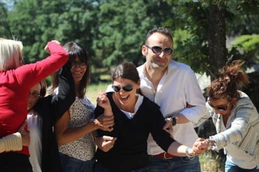 actividad de team building en Madrid Conectados entre sonrisas