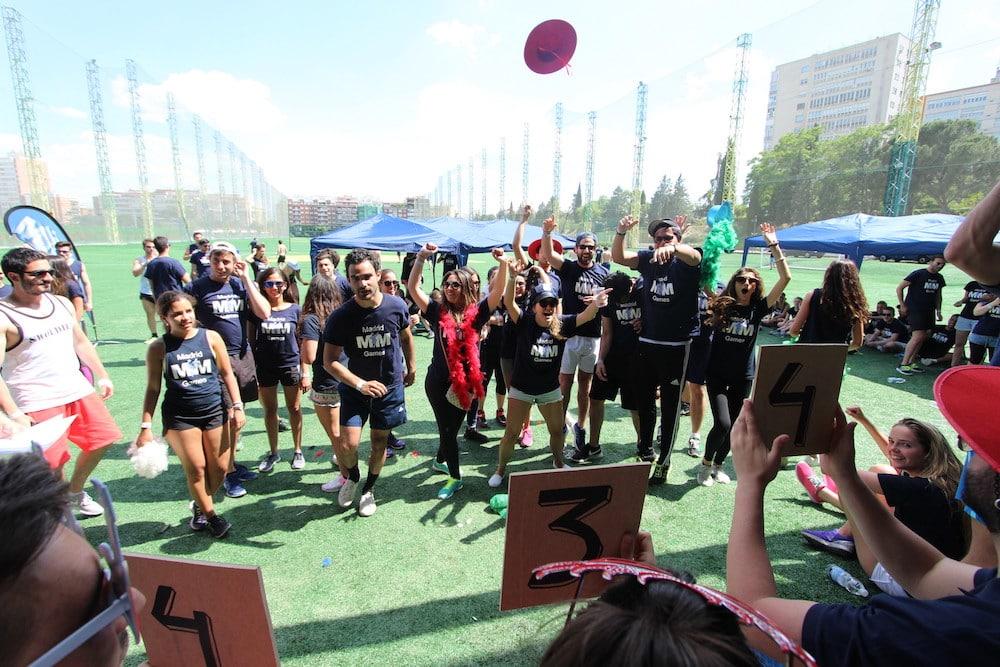Participantes bailando en la MIM Games 2016