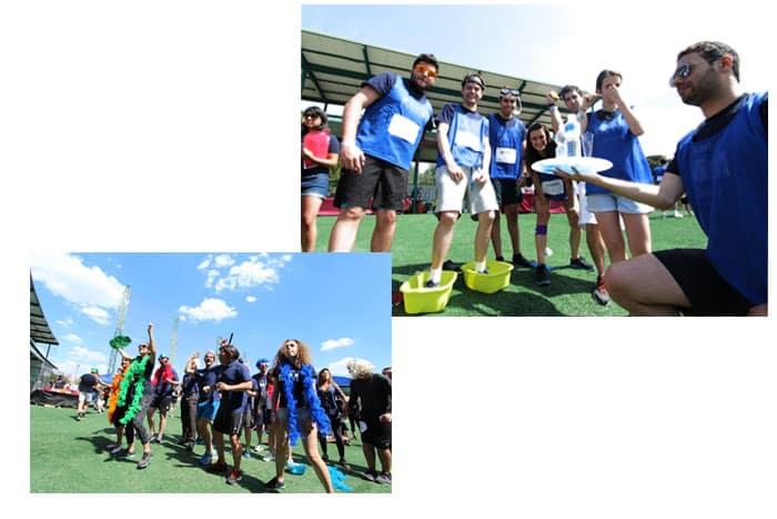 actividaes de los participantes de los MiM Games 2016