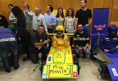 Actividad team building coche de carreras