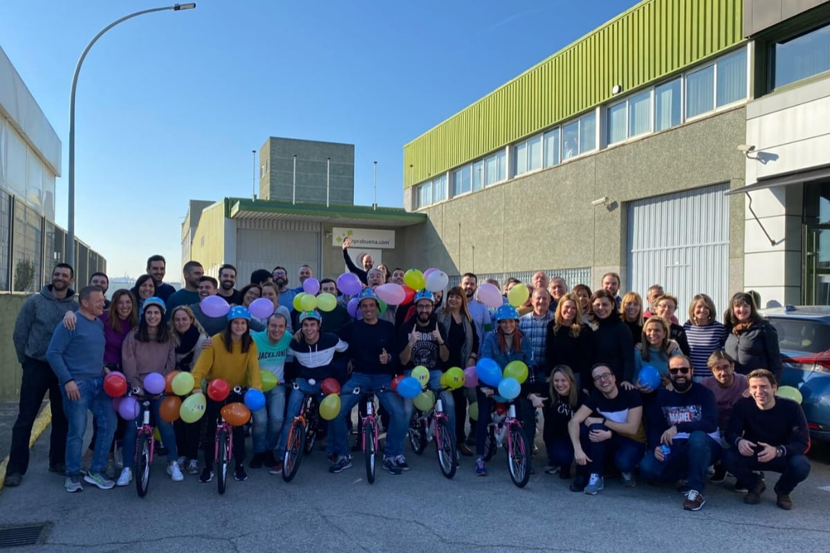 Bicicletas Solidarias Team Building Charity Bikes