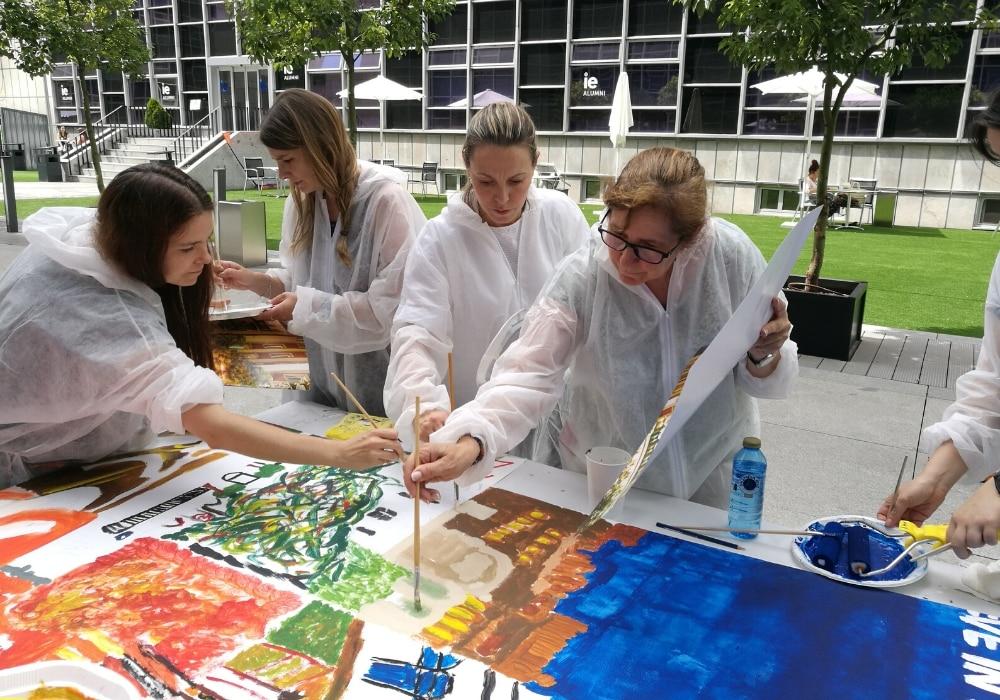 Pintando el futuro Team Building Artistico