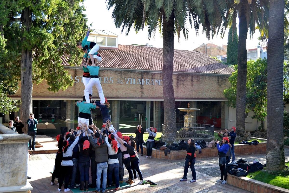 Green Tower Castellers - Actividad Team Building Empresa