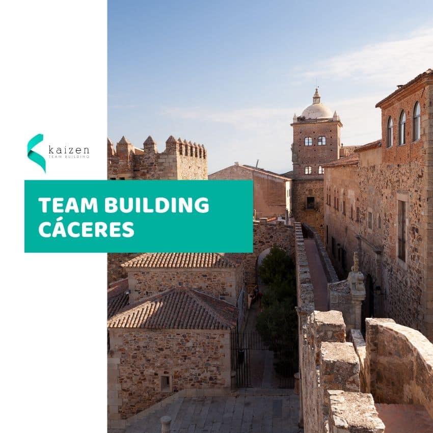 Team Building en Cáceres