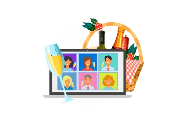 Reunión Virtual Empleados Navidad